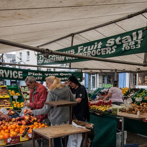 Local Market Tool >> Market Pwllheli Llyn Peninsula North Wales